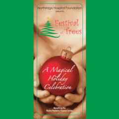 Tri-fold Brochure – Festival of Trees
